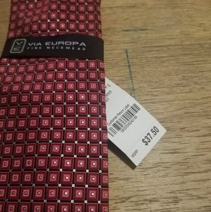 Via Europa Accessories - Via Europa Mens Necktie